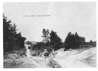View of Carville Road