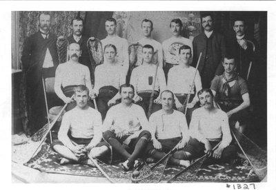 Richmond Hill's championship lacrosse team