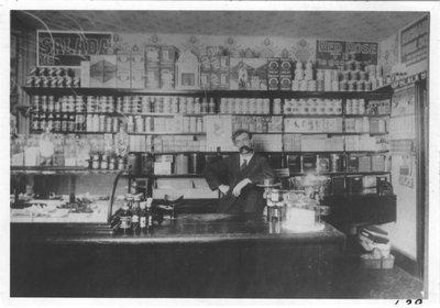 Interior of F.E. Sims General Store