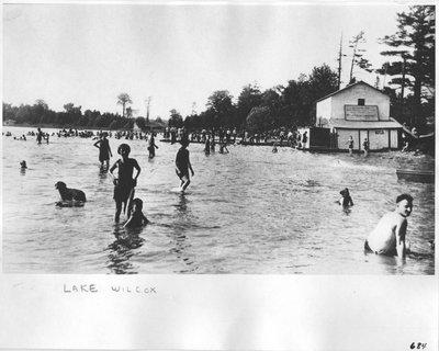 Swimming at Lake Wilcox