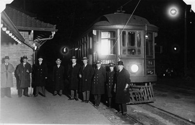 Last car operated on Lake Simcoe Line