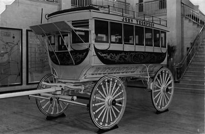 Photograph of Stage Coach