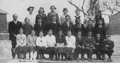 Pupils of senior class of Richmond Hill Public School