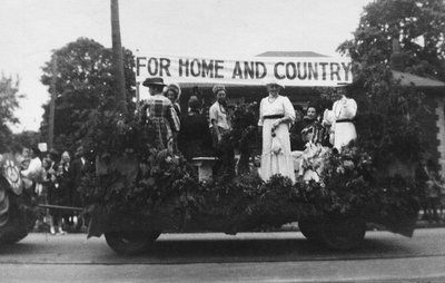 Parade commemorating 100th anniversary of Richmond Hill Agricultural Society