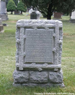 William Powell gravestone