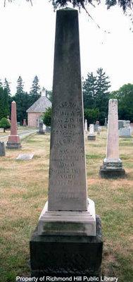Wilkie family obelisk