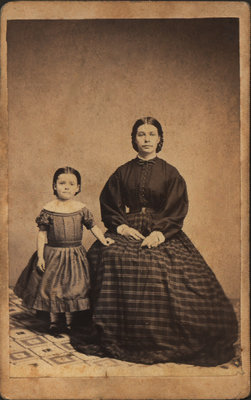 Elizabeth Whittaker with daughter Agnes
