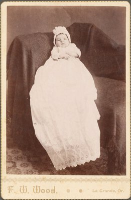 Photograph of baby girl Mirtle