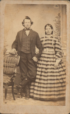Photograph of Mr. and Mrs. Clegg