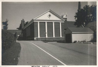 Wrixon Hall