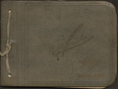 Autograph book of Isobel McLean