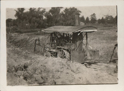Old wheel trencher