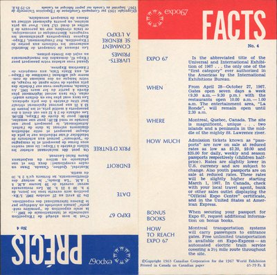 Expo67 facts