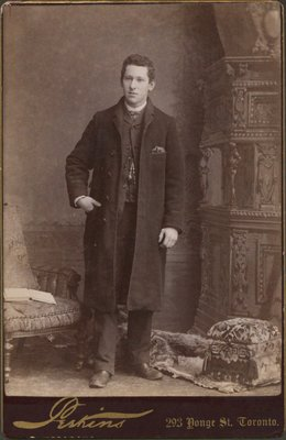 Photograph of a young man