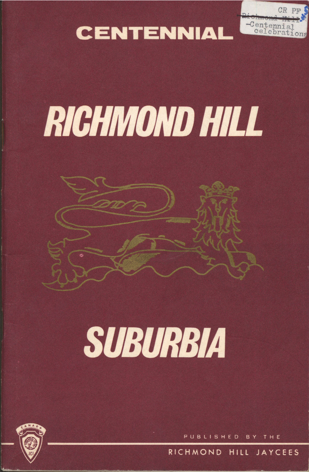 Centennial Richmond Hill Suburbia