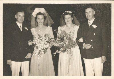 Photograph of Burgar couples