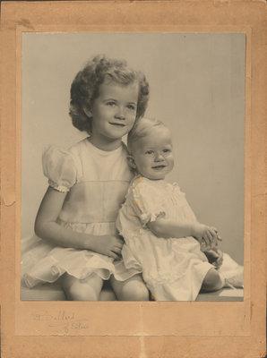 Audrey and Helen Burgar