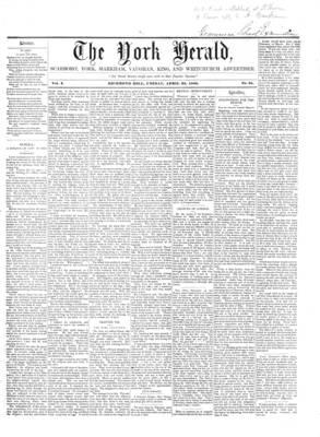 York Herald, 22 Apr 1859