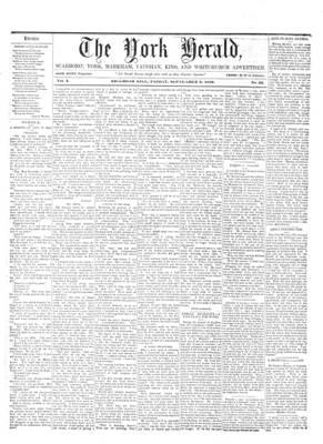 York Herald, 2 Sep 1859