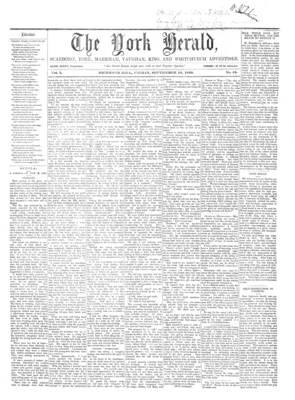 York Herald, 16 Sep 1859