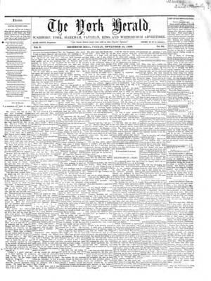 York Herald, 18 Nov 1859