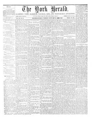 York Herald, 6 Jan 1860
