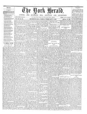 York Herald, 3 Feb 1860