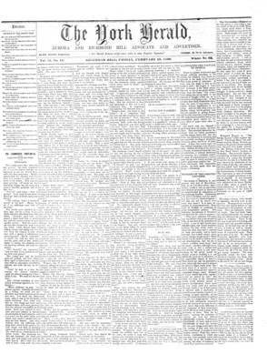 York Herald, 10 Feb 1860