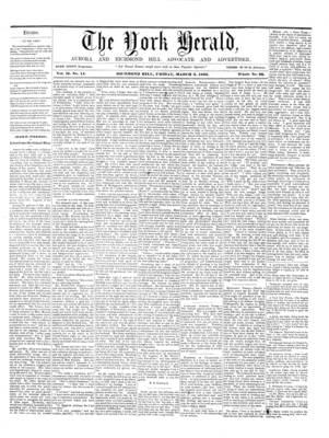 York Herald, 2 Mar 1860