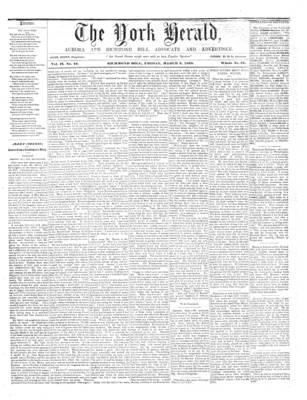 York Herald, 9 Mar 1860