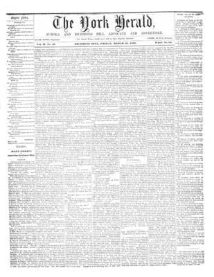 York Herald, 16 Mar 1860