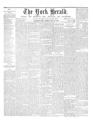 York Herald, 25 May 1860