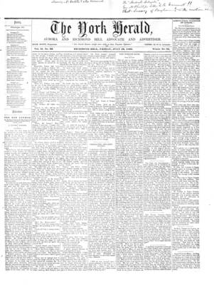 York Herald, 13 Jul 1860