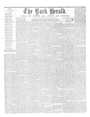 York Herald, 26 Oct 1860