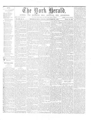 York Herald, 28 Dec 1860