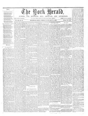 York Herald, 11 Jan 1861