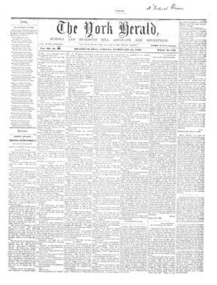 York Herald, 15 Feb 1861