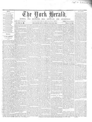 York Herald, 10 May 1861