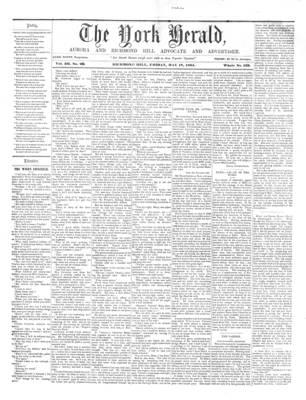 York Herald, 17 May 1861