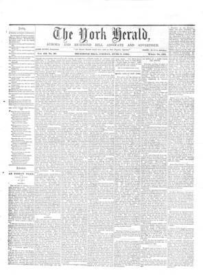 York Herald, 7 Jun 1861