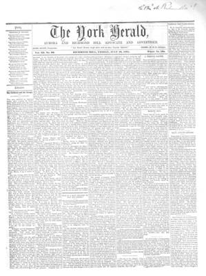 York Herald, 19 Jul 1861