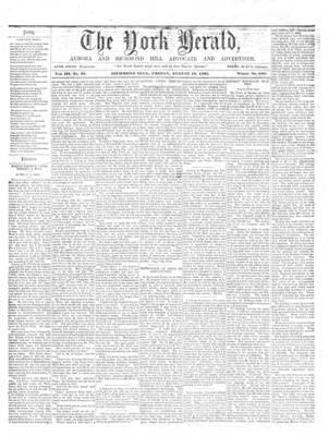 York Herald, 16 Aug 1861