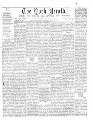 York Herald, 18 Oct 1861