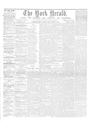 York Herald, 1 Nov 1861