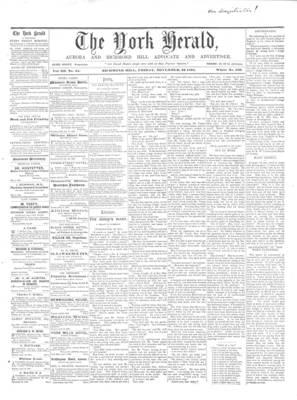 York Herald, 22 Nov 1861