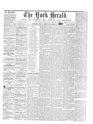 York Herald, 13 Dec 1861