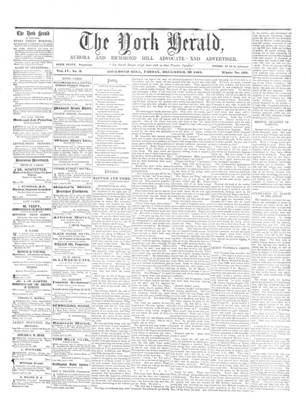 York Herald, 20 Dec 1861