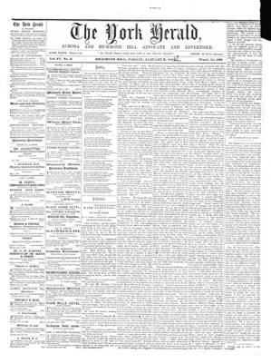 York Herald, 3 Jan 1862