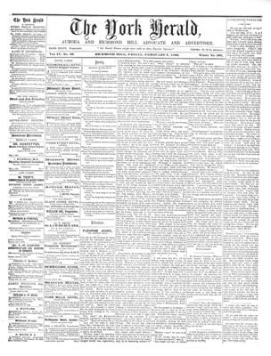 York Herald, 7 Feb 1862