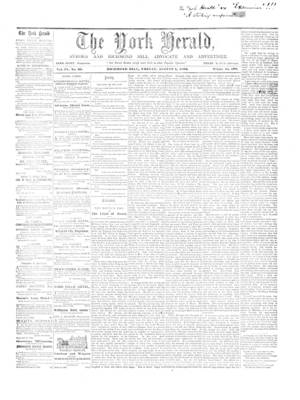 York Herald, 1 Aug 1862